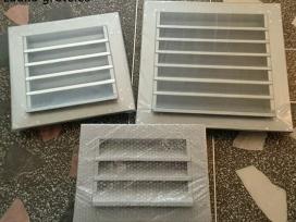Ortakiai, ventiliaciniai vamzdžiai,fasoninės dalys