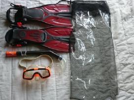 Nardymo komplektai:akiniai,vamzdeliai,lastai - nuotraukos Nr. 4