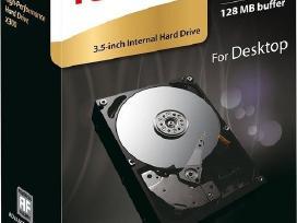 Vidinis 3.5sata HDD diskas 2tb 3tb 4tb 5tb 6tb 8tb