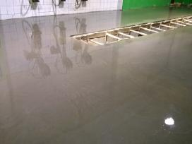 Pramoninių grindų betonavimas - nuotraukos Nr. 4
