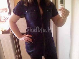 Dzinsine suknele-tunika,tiktus/m - nuotraukos Nr. 3
