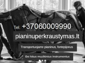 Pianinų pervezimas,gabenimas,uznesimas 86000:9990 - nuotraukos Nr. 2