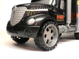 Žaislinis sunkvežimis – tralas su automobiliukais - nuotraukos Nr. 2