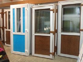 Plastikiniai Langai-lauko durys -stiklo paketai