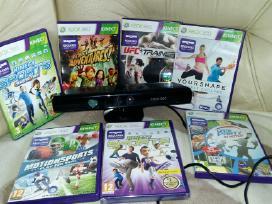 Atrišti Xbox 360, originalūs žaidimai, kinektai kt - nuotraukos Nr. 3