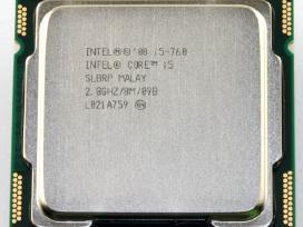 Cpu intel core i3, i5, i7 socket 1156 - nuotraukos Nr. 2