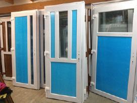 Lauko plastikines Durys nuo130eur+langai