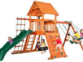 Lauko aikštelė Premium vaikams kedro mediena - nuotraukos Nr. 4