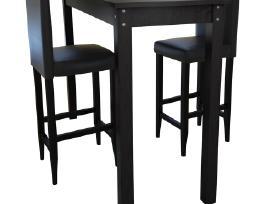 Vidaxl Baro Stalas su 2 Baro Kėdėmis 160727