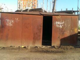 Superkame garažus nusikėlimui Vilniuje
