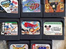 Sega Game Gear žaidimai