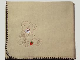 Pledas kūdikiui su siuvinėtu norimu vardu - nuotraukos Nr. 2
