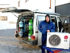 Oro kondicionieriai gree, sinclair, toshiba, fuji