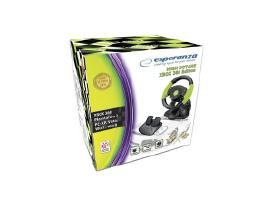 Esperanza Xbox360 vairas su pedalais - nuotraukos Nr. 2