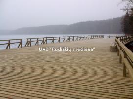 Statybinė konstrukcinė mediena iki 9,0 m ilgio