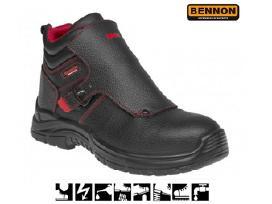 Suvirintojų darbo batai Bnn Welder S3 Hro Src