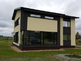 Fasadų šiltinimas stogu siltinimas skardinimas