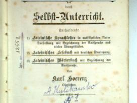 """Lotynu kalbos mokymo priemone vokiskai """"Latein"""" - nuotraukos Nr. 2"""
