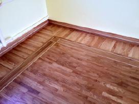 Parketo grindų atnaujinimas, šlifavimas. - nuotraukos Nr. 2