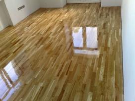 Parketo grindų atnaujinimas, šlifavimas. - nuotraukos Nr. 3