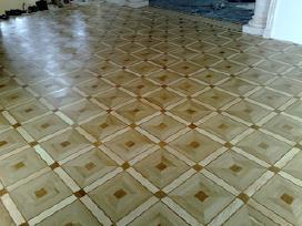 Parketo grindų atnaujinimas, šlifavimas. - nuotraukos Nr. 4