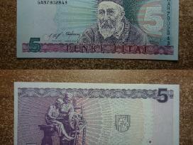 1+2+5 Litų banknotai Unc, nebuvę apyvartoje