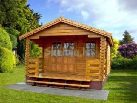Mediniai nameliai ir namai jūsų sodui ar sodybai - nuotraukos Nr. 2
