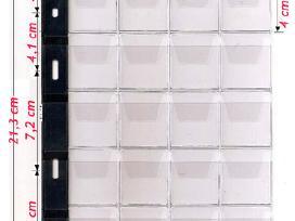 Albumas monetoms 200 langelių (35x40) - nuotraukos Nr. 3
