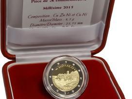 Monako progines 2 euro monetos - nuotraukos Nr. 2