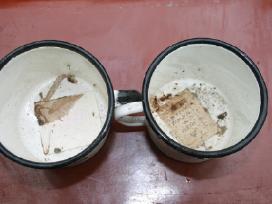 Emaliuoti puodeliai - nuotraukos Nr. 2