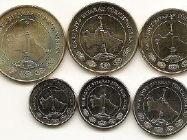 Turkmenistano monetu rinkinukas - nuotraukos Nr. 2