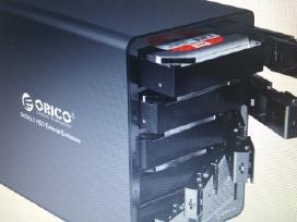 Orico HDD 8x5= 40 Tб kaina 200 euru.