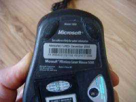 Bevielė lazerinė pelė Microsoft 5000 - nuotraukos Nr. 2