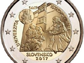 Slovakija 2 Euro 2017 Istropolitano universitetas