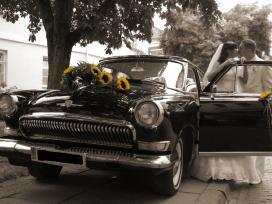 Vestuviu automobilio volga nuoma