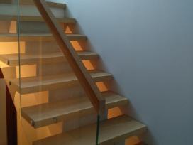 Laiptai - Projektavimas / Gamyba / Montavimas - nuotraukos Nr. 3