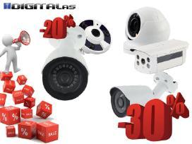 Vaizdo stebėjimo kamera su 30% nuolaida (nuo 15€)