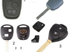 Toyota raktai pultelis rakto korpusas raktas - nuotraukos Nr. 2