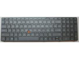 Naujos klaviatūros hp elitebook 8560w 8570w 21,00