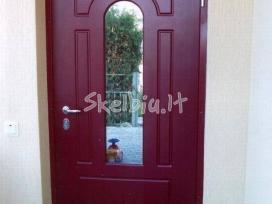 Lietuviškų šarvuotų durų išpardavimas,gamyba