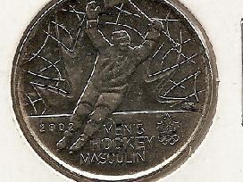 Kanada 25 cents 2009 Mens hockey.