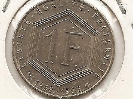 Prancuzija franc 1988 #963