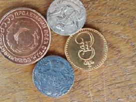 Rusiškos monetų kopijos po 5 eurus. - nuotraukos Nr. 2