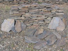 Natūralus skalūnas, skalūno akmenys aplinkai - nuotraukos Nr. 4
