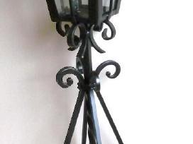 Kalviško darbo lauko žibintas-žvakidė