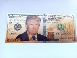 1000 JAV Doleriu su Trumpo atvaizdu