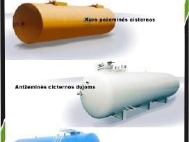 Metalinės cisternos, Talpyklos, Talpos - nuotraukos Nr. 2