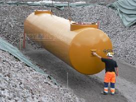 Metalinė cisterna, talpa kurui, trąšoms, vandeniui
