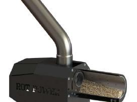 Rotaciniai granuliniai degikliai Kipi , montavimas