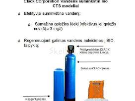 JAV minkštinimo filtras, 405 Eur filtrai